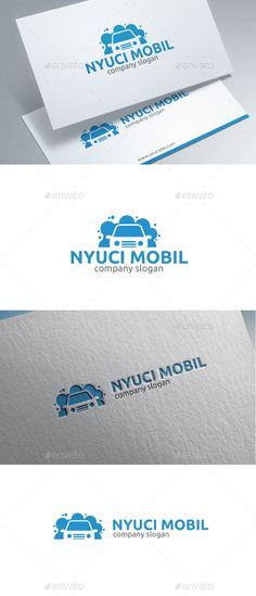 Car Wash Logo — Vector EPS #simple #car service • Available here → https://graphicriver.net/item/car-wash-logo/15507783?ref=rabosch