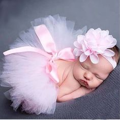 Nwt Girls Newborn Nb Pom Bunny Tutu Outfit Just One You Brand