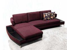 Stylish Design Furniture - Italy Modern Purple Fabric Sectional Sofa, $1,170.00 (http://www.stylishdesignfurniture.com/products/italy-modern-purple-fabric-sectional-sofa.html)