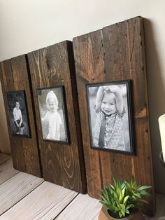 Rustic Wood Frame - Picture Frame Set - Rustic Picture Frame Set - Wood Picture Frame - Farmhouse Decor - Rustic Home Decor - Wall Hanging Rustic Wood Frame Picture Frame Set Rustic Picture Frame Rustic Picture Frames, Picture Frame Sets, Picture On Wood, Diy Picture Frames On The Wall, Rustic Frames, Hanging Picture Frames, Picture Frame Decorating Ideas, Picture Photo, Homemade Picture Frames