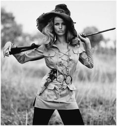 YSL groundbreaking Safari Collection. Veruschka by Franco Rubartelli for Vogue,1968.