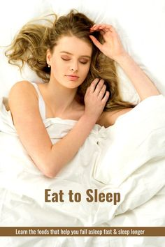 Learn the secret of how food can actually help you get to sleep and get restful sleep and what you need to be eating. Sleep Help, How To Get Sleep, Sleep Issues, Positive Body Image, Time Management Skills, Self Improvement Tips, Hiit, Simple Way, How To Fall Asleep