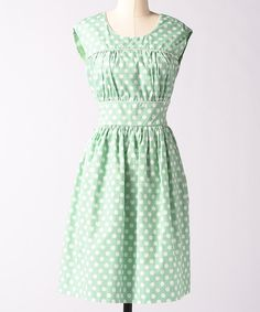 Take a look at this Honey Fine Focus Polka Dot Dress on zulily today! Loving the polka dots!!!