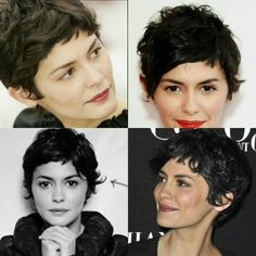 Audrey Tatou - love this cut.