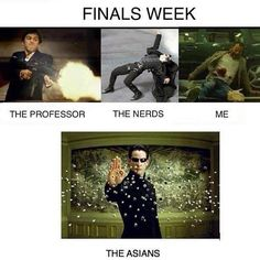 What finals look like