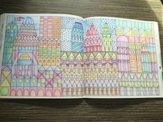 Dream Cities Colouring Book By Alice Chadwick