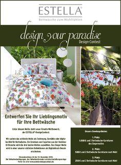 """ESTELLA DesignContest """"design your paradise"""""""