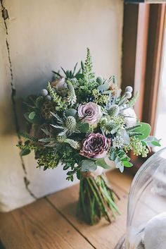 Wildflower Wedding Bouquets Not Just For The Country Wedding ❤ See more: http://www.weddingforward.com/wildflower-wedding-bouquets/ #weddings: