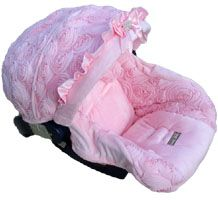 Baby Crystal Rose Infant Car Seat Replacement Cover by Nollie Covers. This is by far my favorite.