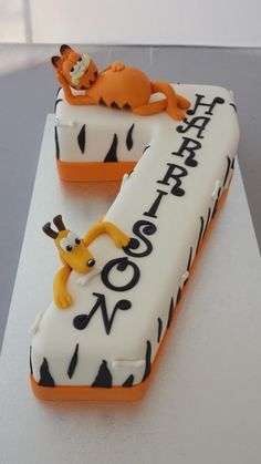 Number 7 - Cake by Paul Delaney of Delaneys cakes