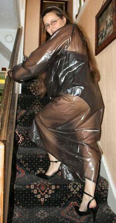 sex in a plastic suit