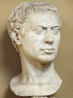 "Man (""Sulla""), Roman bust (marble), 1st century BC - 1st century AD, (Musei Vaticani, Vatican City)."
