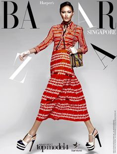 "Jiratchaya ""Tawan"" Kedkong [Thailand] -- Cycle 4 Asia's Next Top Model, Short Sleeve Dresses, Photoshoot, Womens Fashion, Models, Singapore, Thailand, Gucci, Magazine"