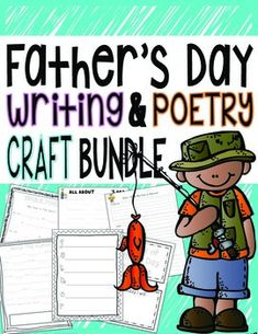 000 Father's Day Simile Poem {Printable activity} Activities