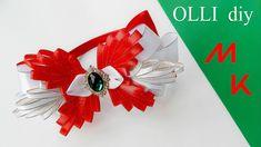 DIY Нарядный бант при помощи шаблона   Elegant bow with template