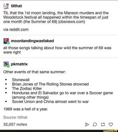 I think it's the only year that if you turn it upside down it's still the same, or was it something else My Tumblr, Tumblr Posts, Tumblr Funny, Funny Memes, Hilarious, Jokes, History Memes, History Facts, The More You Know