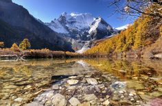 Pearl Lake @ Yading by Nutthavood Punpeng, via 500px