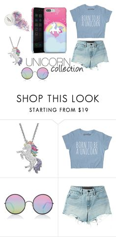 Unicorn Collection by DeinDesign on Polyvore featuring Mode, T By Alexander Wang, Artistique and Sunday Somewhere