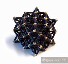 gwenbeads: Infinite Polyhedra and Cubic Honeycombs in Beads