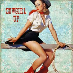 Retro Cowgirl