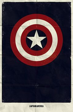 Captain America threw his mighty shield
