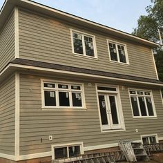 #mulpix Another #Siding Project by #ExteriorMakeovers #CapeCod #WoodSiding #Maibec #Exterior #Wood #Architecture #Design #CustomHome #Builder #Designer #Architect #ExteriorDesign #Luxury #LuxuryHome #ContemporaryHome #MLS #RealEstate #Toronto #Oakville #Burlington #Mississauga #Soffit #Fascia #Eavestrough