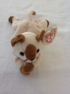 a79a5863d5e RETIRED TY BEANIE BABY 1996 SNIP SIAMESE CAT STYLE  4120  Ty
