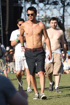David Hasselhoff parties at Coachella with new girlfriend