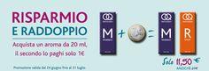 """PROMOZIONE """"RISPARMIO E RADDOPPIO"""" - Smoqueen the electronic cigarette a ilgiulia"""