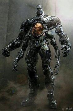 "POPCORNX: Concept Art for ""KRANG"" in ""Teenage Mutant Ninja Turtles 2"""