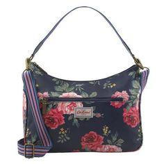 Cath Kidston Antique Rose curved shoulder bag - Daisy Park