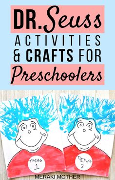 Looking for fun classroom room activities for preschoolers? Or even just an activity to keep your kids entertained? Read here for all the best Dr. Seuss themed activities and crafts you need to try out! #drseuss #craftsforkids #forkids #drseusscrafts #diycrafts #activitiesforkids #funforkids #forpreschoolers #classroomactivities