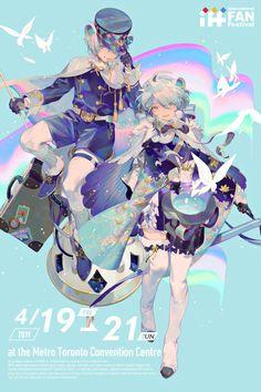 "【IFF】""IFF Toronto Mascot Design"" / Illustration by ""零@通販始めた"" [pixiv] Character Concept, Character Art, Concept Art, Pretty Art, Cute Art, Fantasy Characters, Anime Characters, Art Anime, Anime Art Girl"