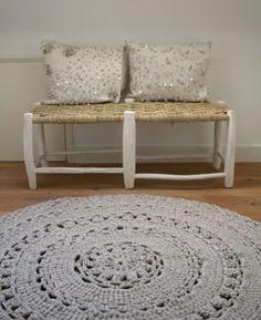 alfombra de crochet chuliiiisima!