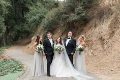 Venue: Los Willows Wedding Estate Photography: Jenna Joseph Photography Menswear: Black Notch Lapel Tuxedo with an ivory bow tie Write up from Jenna Joseph Black Tie, Black And White, Woodsy Wedding, White Weddings, Tuxedo, Joseph, Going Out, Neutral, Ivory