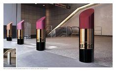 Beatiful outdoor advertising for Revlon  lipsticks. http://www.arcreactions.com/erven-planning-inc-website-design/