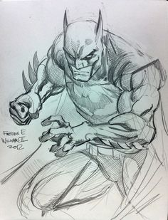 Batman by Freddie E. Williams II ✤ || CHARACTER DESIGN REFERENCES | キャラクターデザイン •…