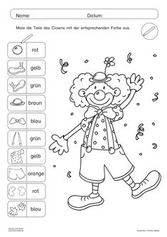 Coloring Books, Coloring Pages, Education Logo, Social Trends, German Language, Teaching Materials, Preschool, Classroom, Activities
