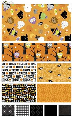 Ghouls & Goodies  fabric line by Doodlebug Design Inc for Riley Blake Designs—Subscribe to our newsletter at http://www.rileyblakedesigns.com/newsletter/
