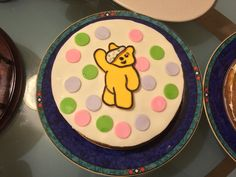 Pudsey Cake for Children in need