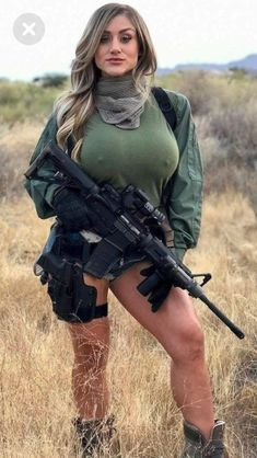 ;-)~❤️~::: sexy girls hot babes with guns beautiful women weapons #girlswithguns #babeswithguns #hotgirlswithguns
