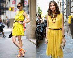 Na cartela de cores do verão, o amarelo é queridinho. Você aposta?
