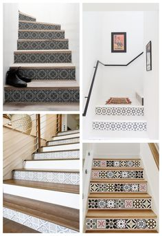 Staircase Makeover, Interior Stairs, House Stairs, Staircase Design, Modern Interior Design, Home Projects, Living Spaces, Sweet Home, New Homes