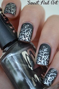 Matte tree branches.