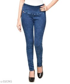 Jeans Trendy Solid Denim Jean Fabric: Denim Size: 30 in, 32 in, 34 in, 36 in, 38 in, 40 in Length: Up To 32 in Type: Stitched Description: It Has 1 Piece Of Jeans Pattern: Solid Sizes Available: 28, 30, 32, 34, 36, 38, 40   Catalog Rating: ★4.3 (386)  Catalog Name: Free Gift  Stylish Solid Denim Jeans Vol 3 CatalogID_66422 C79-SC1032 Code: 654-595743-
