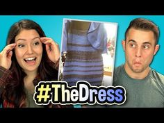 WHAT COLOR IS THIS DRESS? (Teens React Special) - YouTube