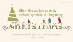 Free Love One Another eCard - eMail Free Personalized Christmas Cards Online