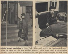 Billie Holiday article.