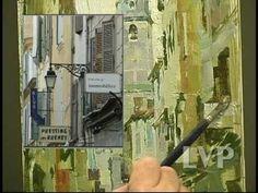 (1) John Michael Carter paints European Street Scene. - YouTube