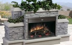 Stylish Dimplex Outdoor Electric Fireplace